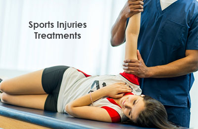 Sports injuries treatments