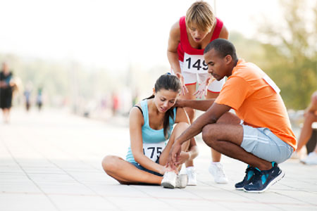 Types and treatments of Sports injuries